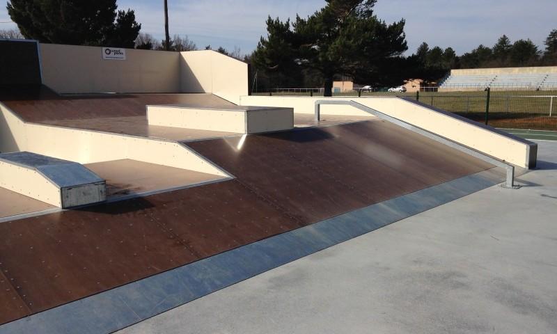 skatepark bois SAUT