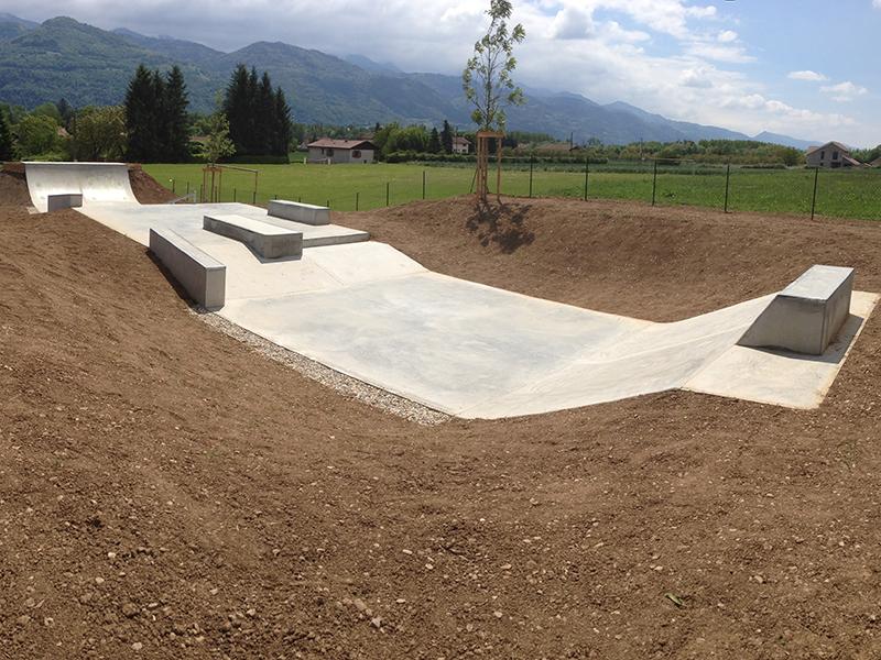 Skate park beton E2S Company