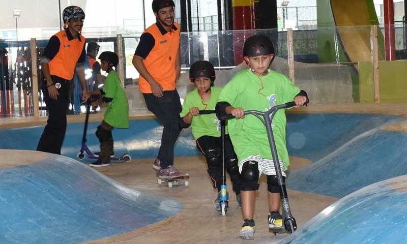 Skatepark-indoor-Kuwait-WoodPark