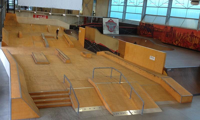 skate park indoor Lille